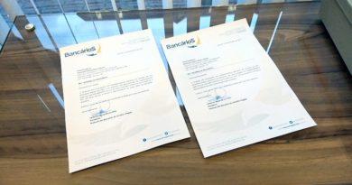 Bancários Joinville envia ofício aos deputados Tebaldi e Mariani