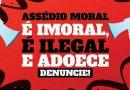 Assédio moral adoece; Denuncie ao Sindicato!