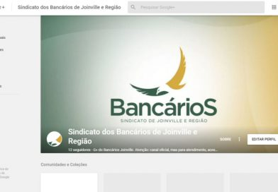Você já conhece o Bancários Joinville Google+?