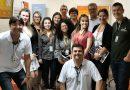 Sindicato dos Bancários reunidos no Itaú agência Santa Catarina