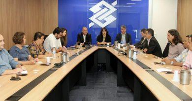 Reunião com Banco do Brasil