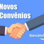 Novos convênios Bancários Joinville – Abril de 2019!