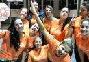 Equipe do Comitê Itaú Social de Joinville em ação solidária de Páscoa