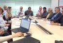 Reunião entre o Banco Santander e o movimento sindical