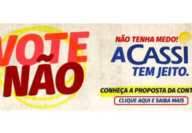 CASSI: vote NÃO! Ela tem jeito; Conheça a proposta da CONTEC