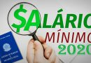 Governo sobe salário mínimo de R$ 1.039,00 para R$ 1.045,00