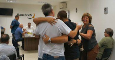 Valdemar Luz é reeleito presidente do Sindicato dos Bancários com 97,5% dos votos